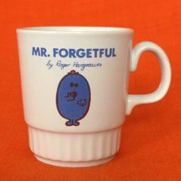 Mr Men 1970s mug